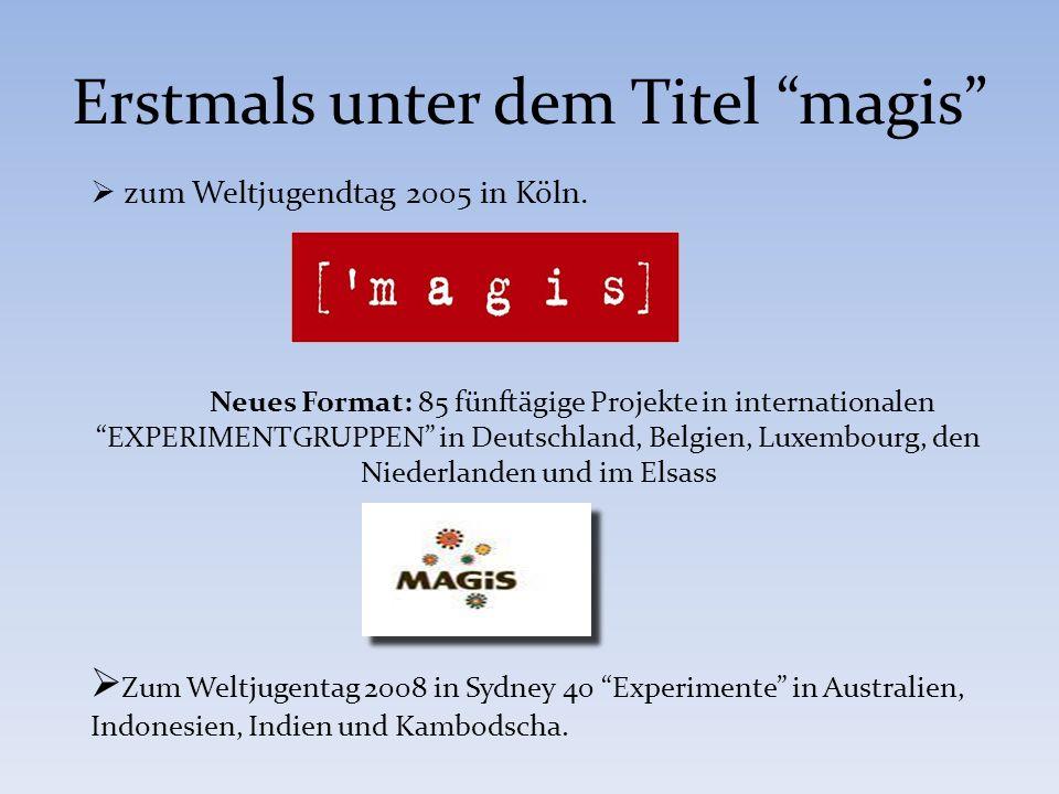 2. MAGIS zum WJT 2011 in Madrid: 7