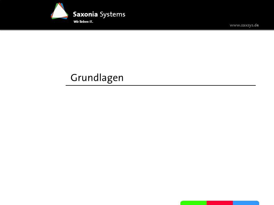 www.saxsys.de Saxonia Systems Wir lieben IT.Grundlagen Was sind Human-Tasks.