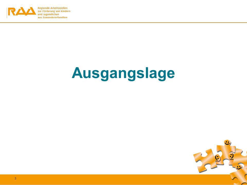 14 Bewerbungs- und Suchstrategien sind identisch mit der Vergleichsgruppe der deutschen autochthonen Jugendlichen Prozentuale Abweichung zw.
