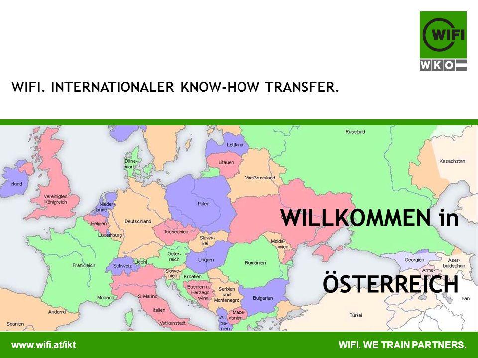 www.wifi.at/iktWIFI.WE TRAIN PARTNERS. WIFI. IKT.