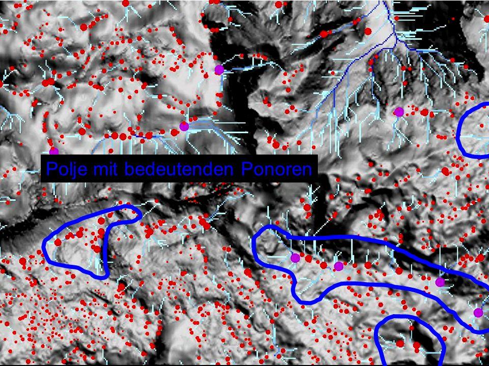 Polje mit bedeutenden Ponoren