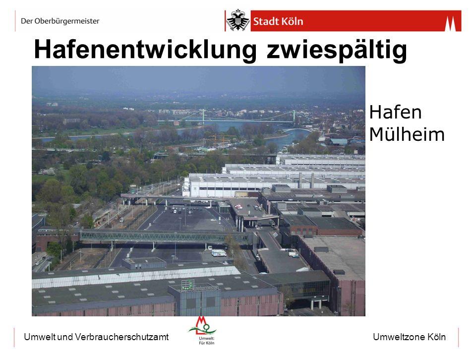Umweltzone KölnUmwelt und Verbraucherschutzamt Hafenentwicklung zwiespältig Hafen Mülheim