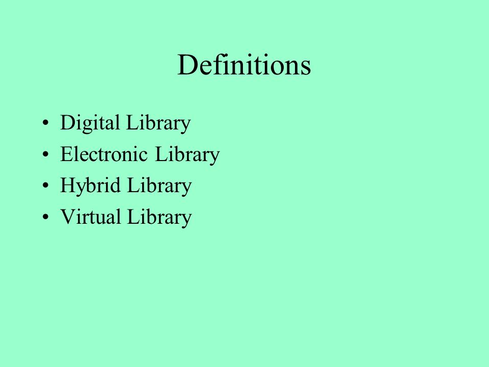 Initiative Foundation of Virtual Libraries in Germany German Research Foundation granted a two-year project to ZBMed to contribute to the German Virtual Research Library 1 physician and 1 computer expert 150.000 DM for software licences