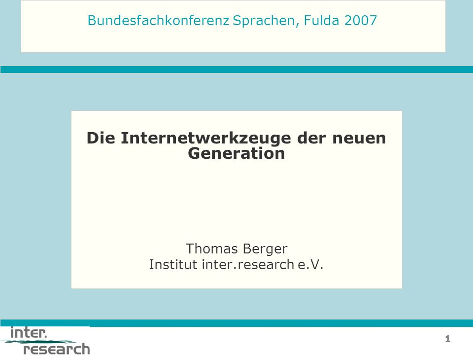 12berger@inter-research.de LIPS – Linguistic and intercultural Preparation of Students for the workplace
