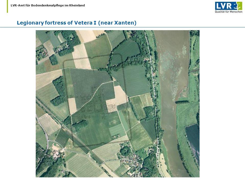 Legionary fortress of Vetera I (near Xanten)
