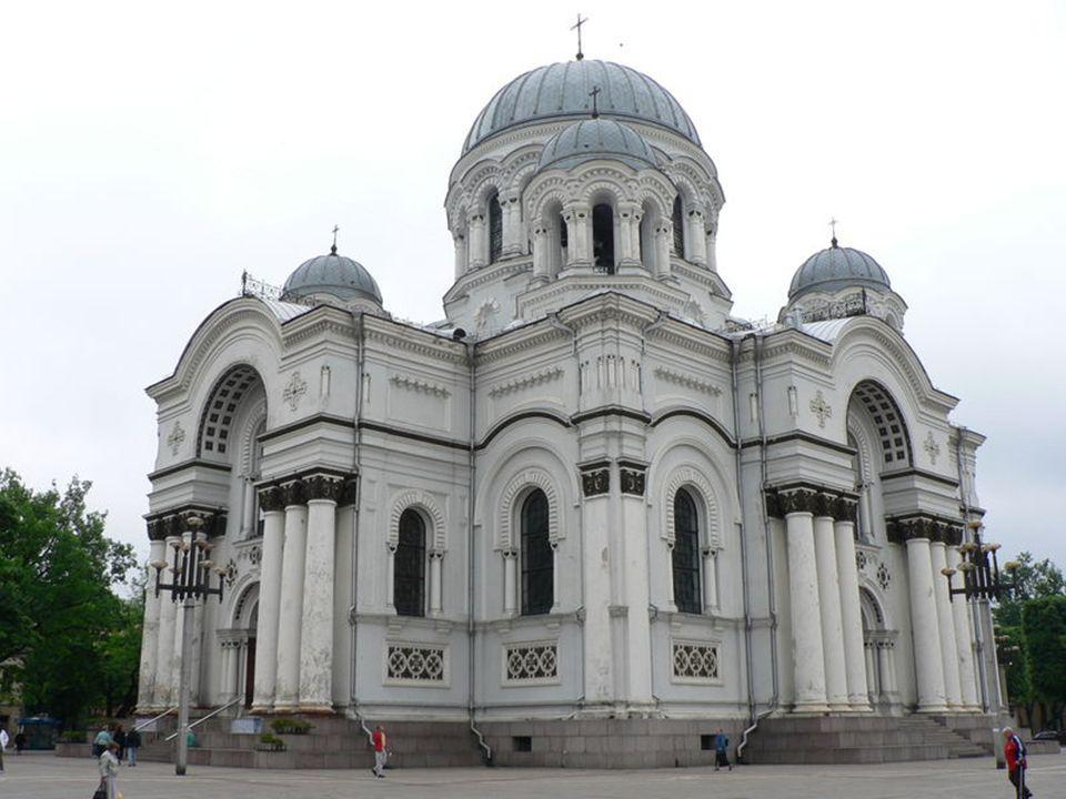 Die zwei bekanntesten Städte in Litauen: 1.Kaunas