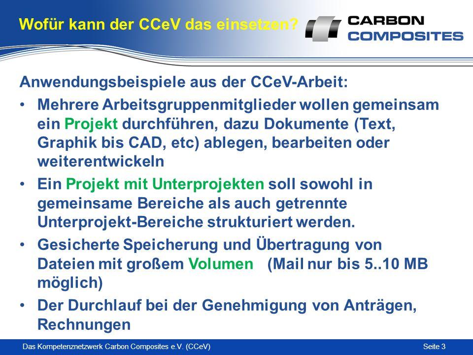 Seite 3Das Kompetenznetzwerk Carbon Composites e.V.