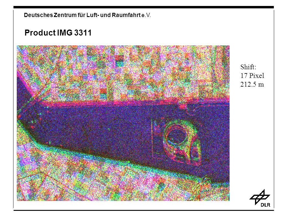 Deutsches Zentrum für Luft- und Raumfahrt e.V. Product IMG 3311 Shift: 17 Pixel 212.5 m