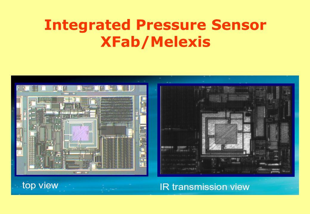 Integrated Pressure Sensor XFab/Melexis
