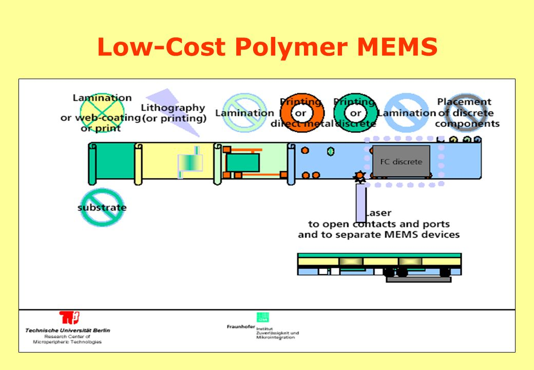 Low-Cost Polymer MEMS
