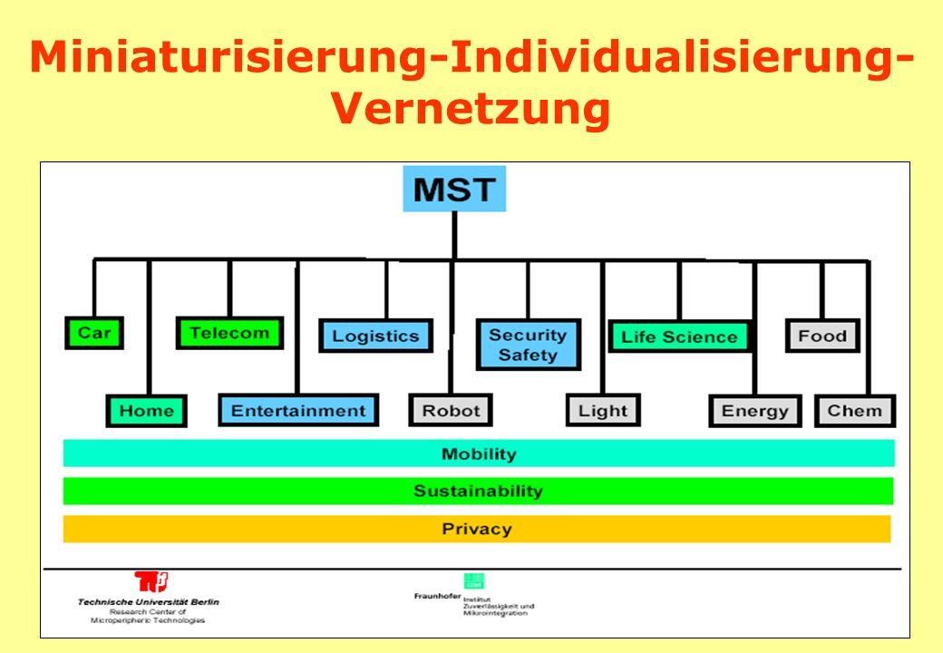 Miniaturisierung-Individualisierung- Vernetzung