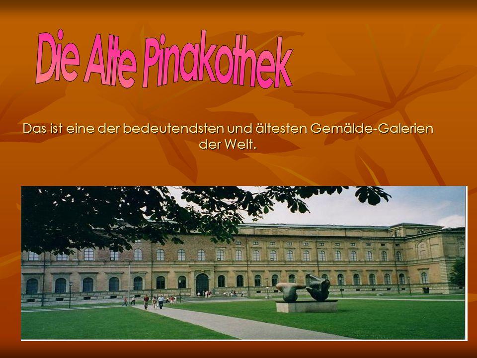 Nicht weit vom Stadtzentrum ist die Sommerresidenz der Wittelsbacher, mit ihrem riesigen Schlosspark.