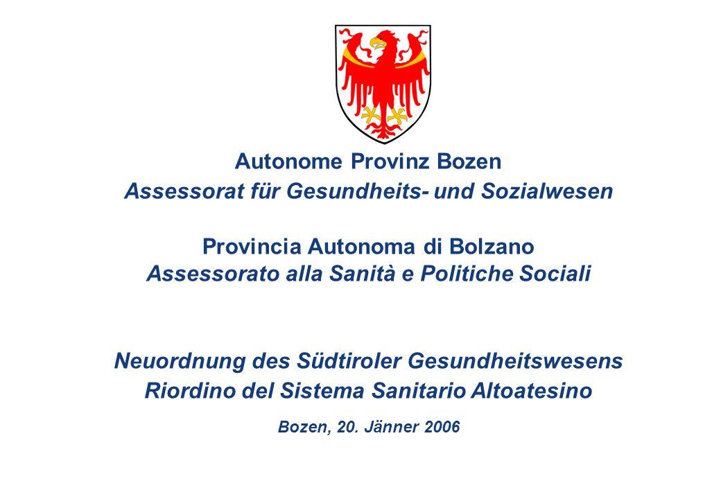 2 Die europäischen Entwicklungen im Gesundheitswesen machen auch in Salurn und am Brenner nicht halt.