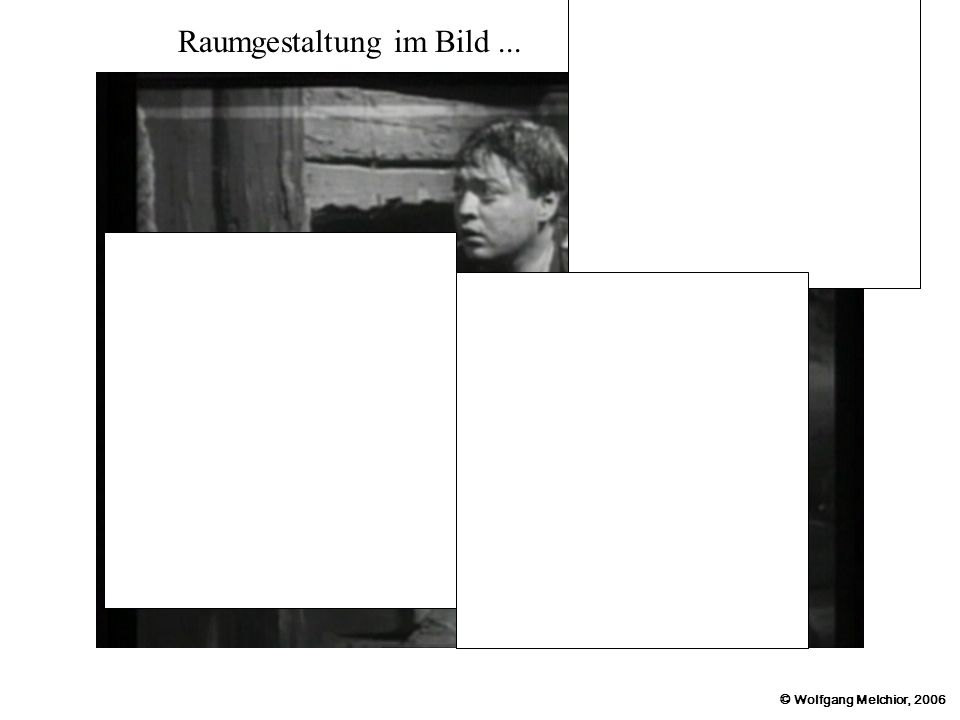 © Wolfgang Melchior, 2006 Raumgestaltung im Bild...