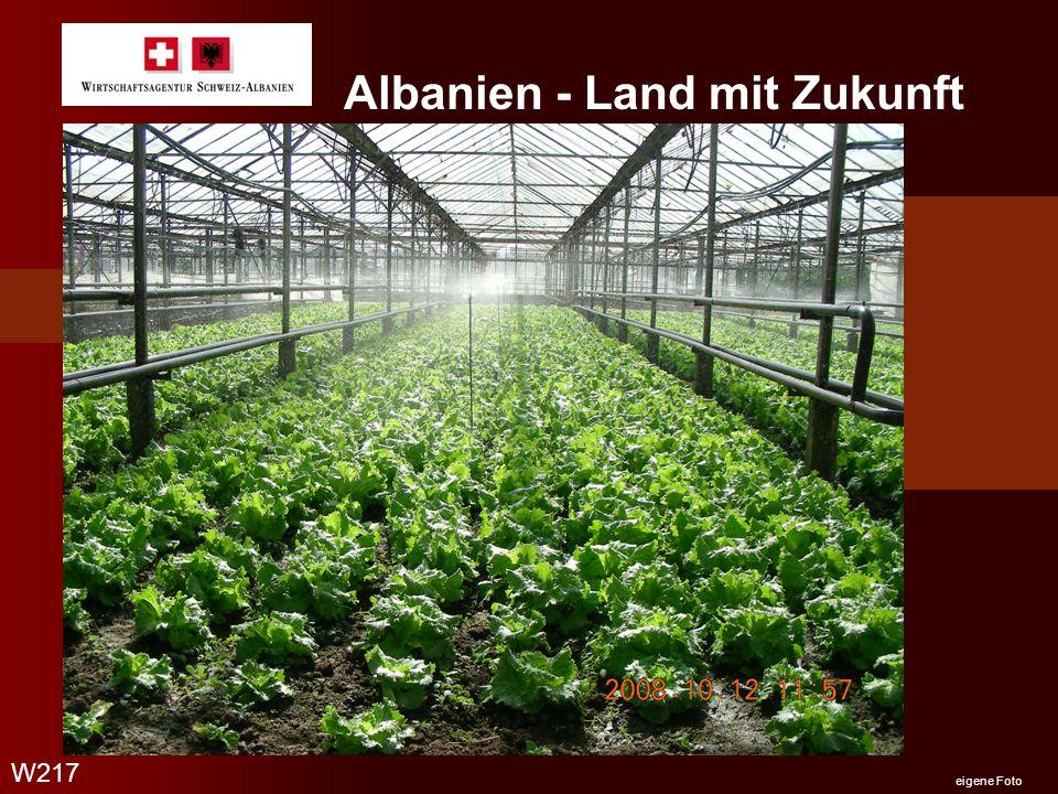 Albanien - Land mit Zukunft W217 eigene Foto