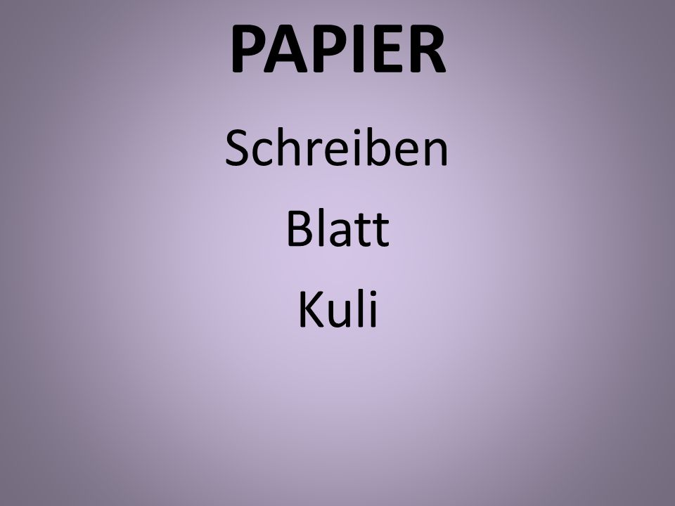 PAPIER Schreiben Blatt Kuli