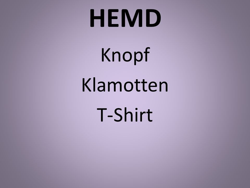 HEMD Knopf Klamotten T-Shirt