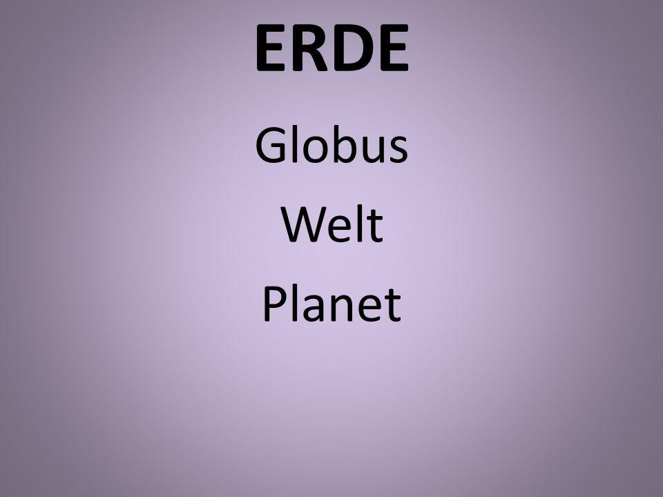 ERDE Globus Welt Planet