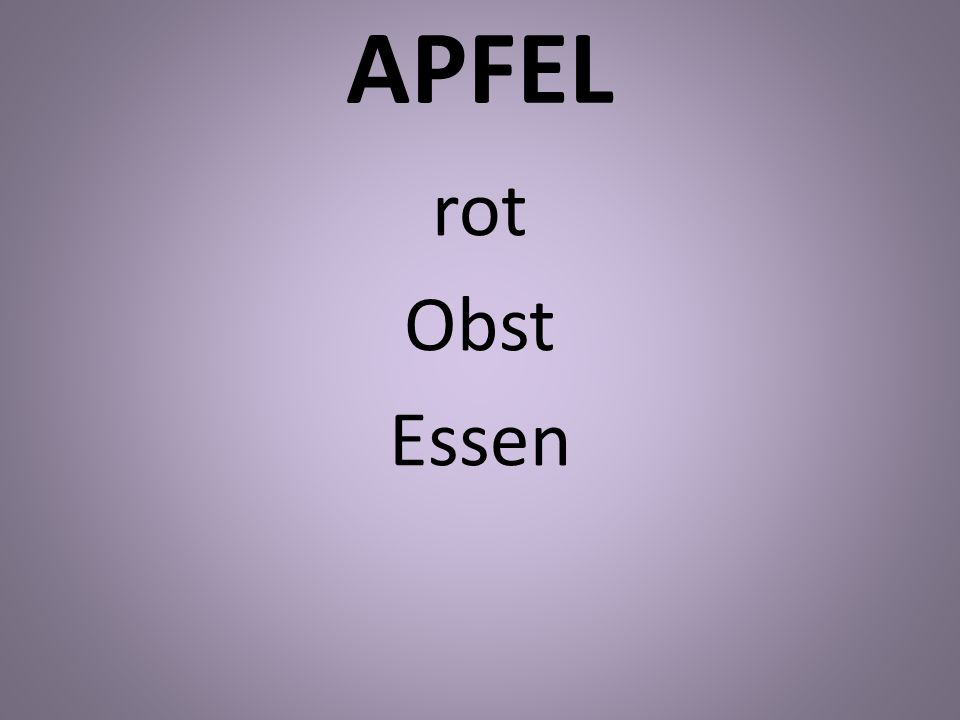 APFEL rot Obst Essen