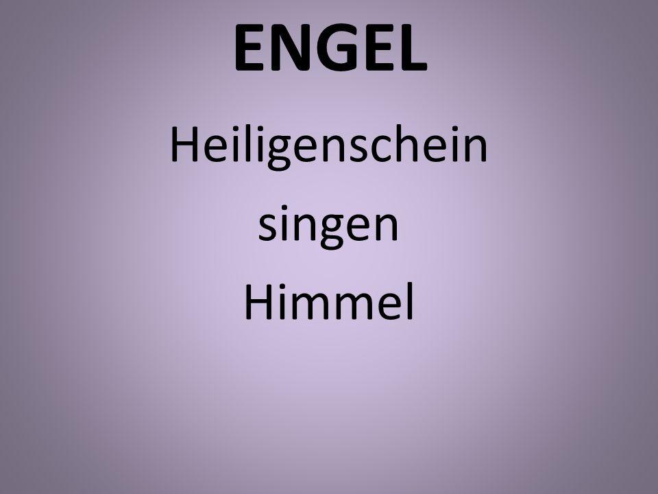 ENGEL Heiligenschein singen Himmel