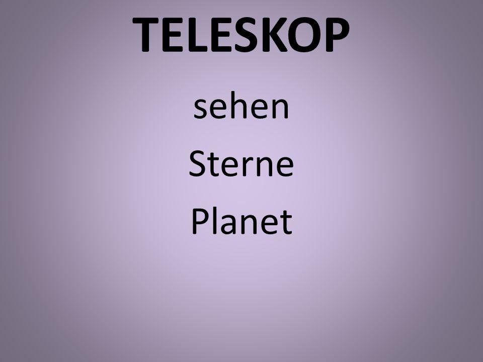 TELESKOP sehen Sterne Planet