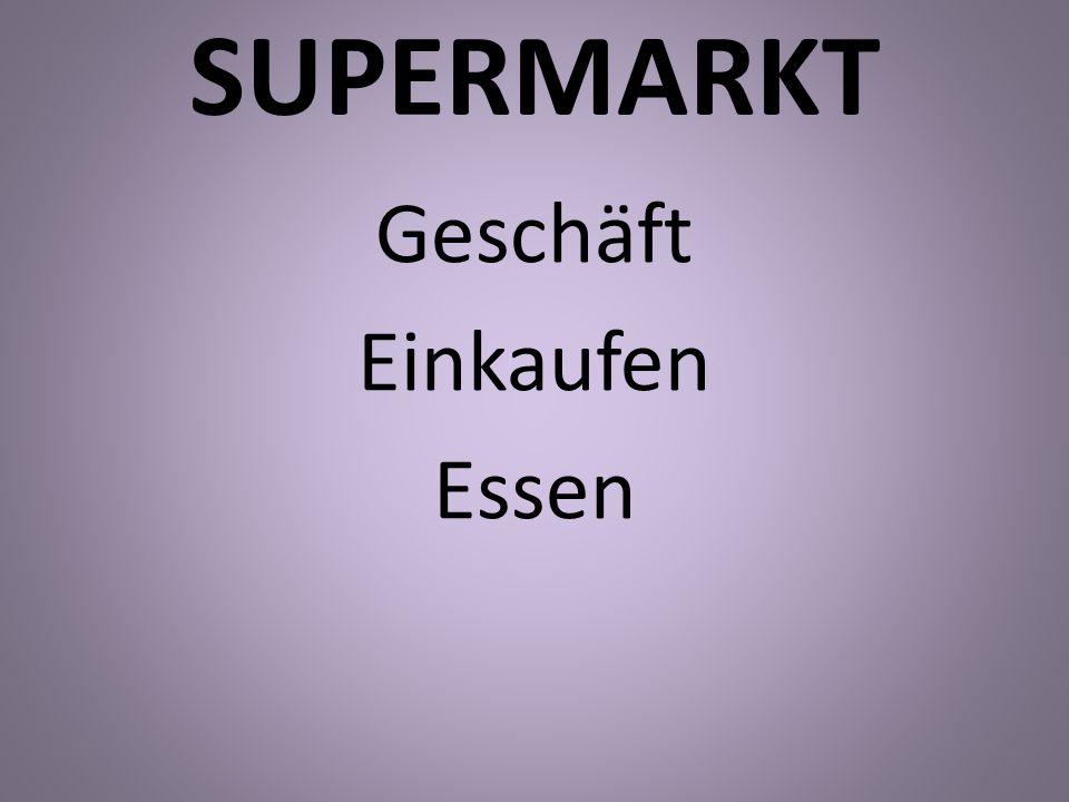 SUPERMARKT Geschäft Einkaufen Essen