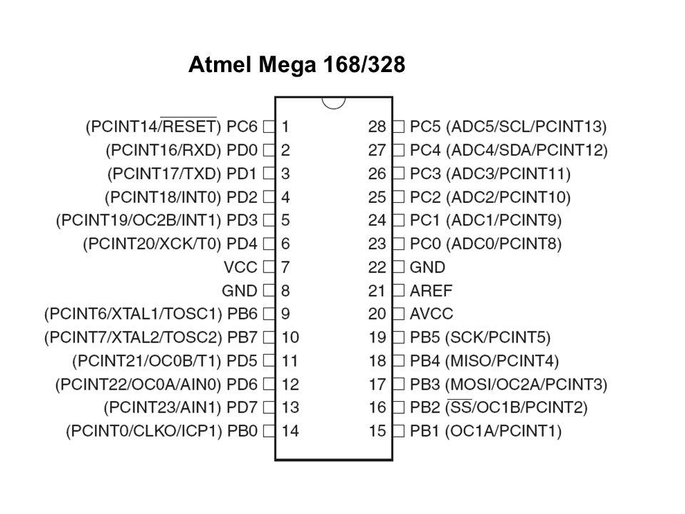 Atmel Mega 168/328