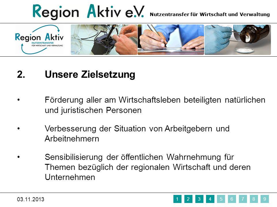Nutzentransfer für Wirtschaft und Verwaltung 3.