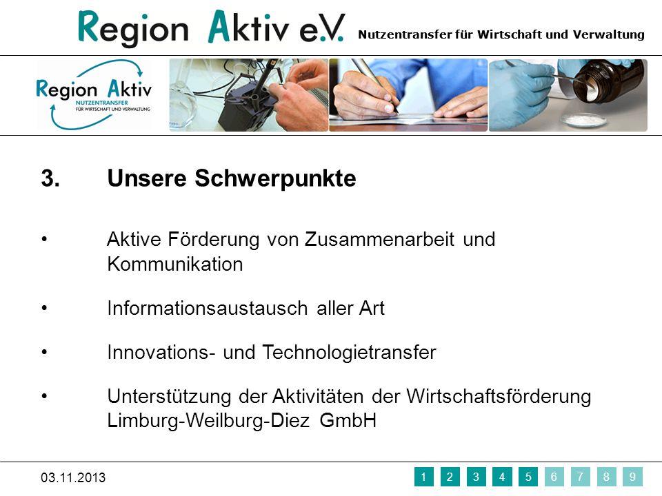 Nutzentransfer für Wirtschaft und Verwaltung 4.