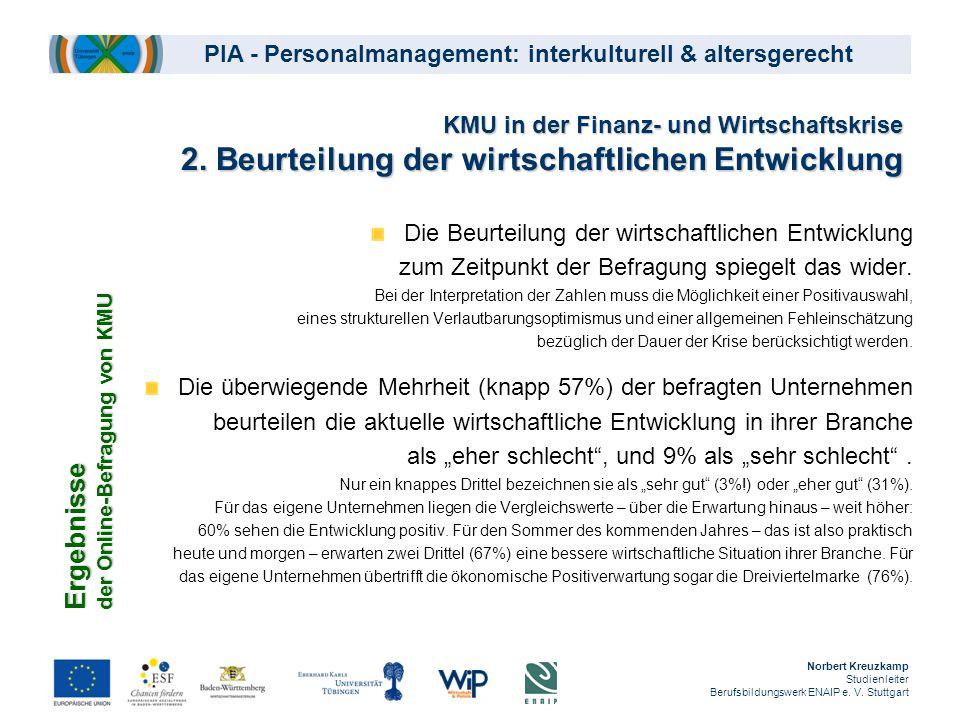 PIA - Personalmanagement: interkulturell & altersgerecht 22.