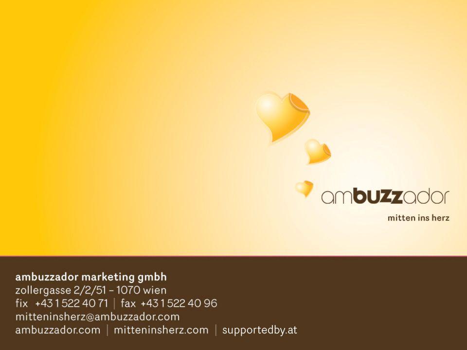© ambuzzador marketing gmbh