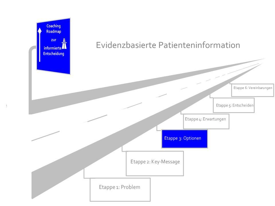 Patientenbeteiligung in den vier Beratungsgesprächen beobachtet mit MAPPINSDM