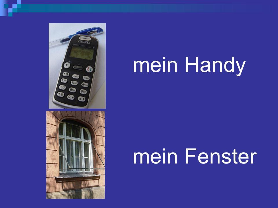 mein Handy mein Fenster