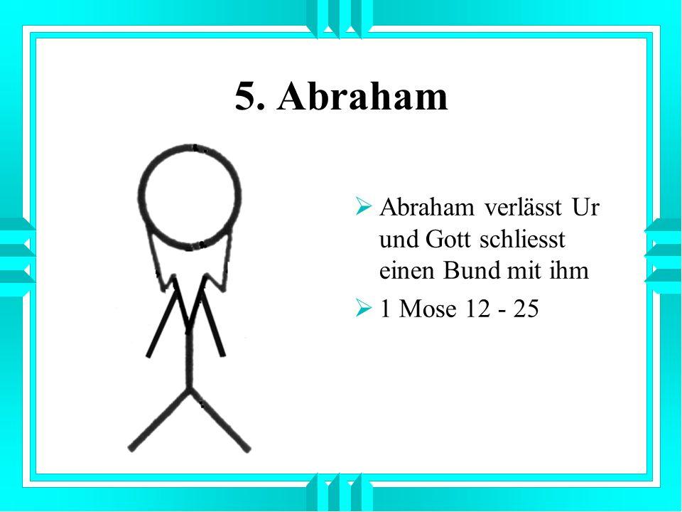 6. Isaak Isaak ist Jakobs Sohn und Sohn der Verheissung 1 Mose 25