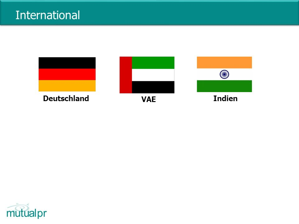 International VAE DeutschlandIndien