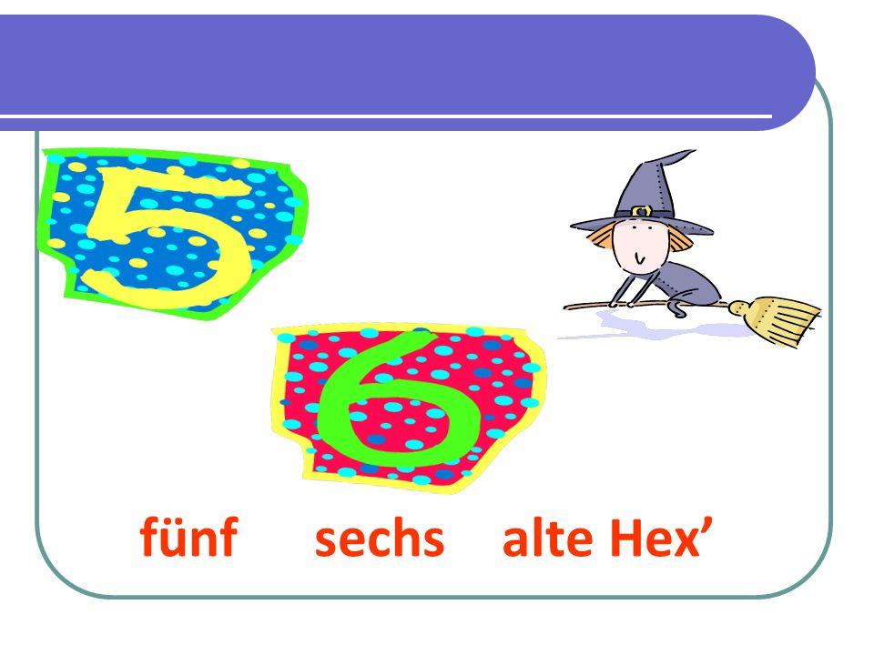 fünfsechs alte Hex