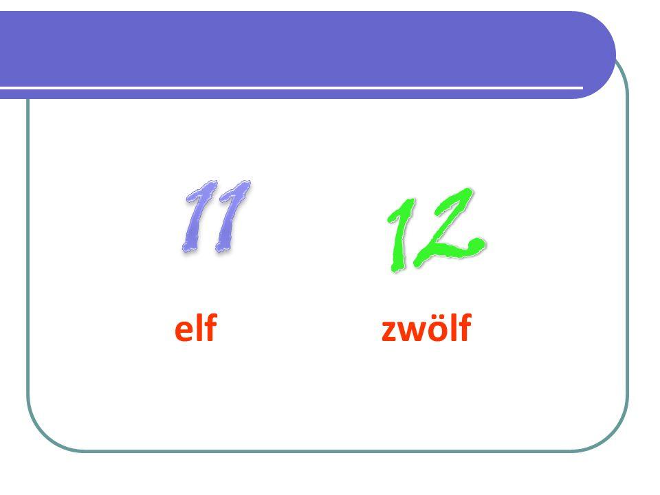 elf zwölf