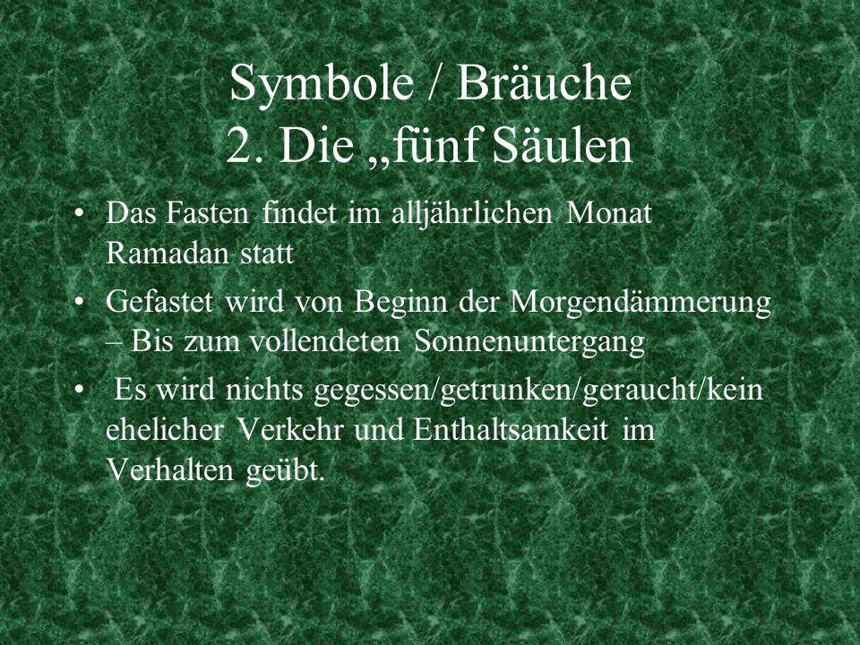 Symbole / Bräuche 2.