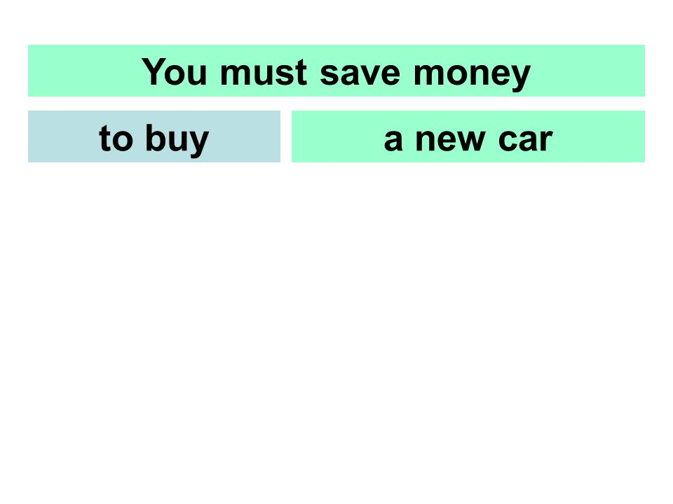 You must save money a new carto buy
