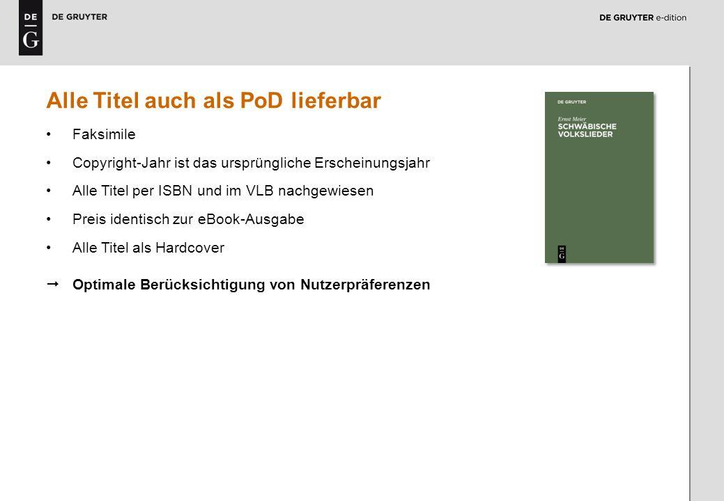 7 Alle Titel auch als PoD lieferbar Faksimile Copyright-Jahr ist das ursprüngliche Erscheinungsjahr Alle Titel per ISBN und im VLB nachgewiesen Preis