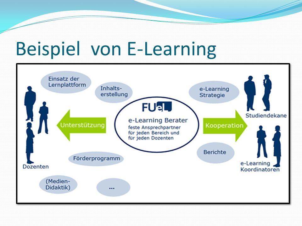 Beispiel von E-Learning