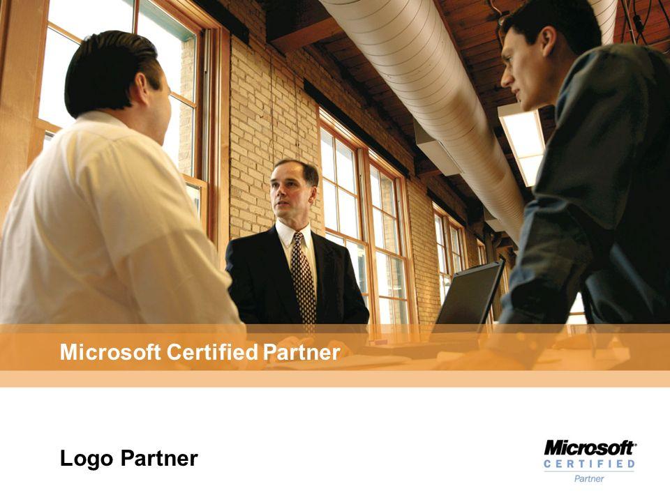 Microsoft Certified Partner Logo Partner