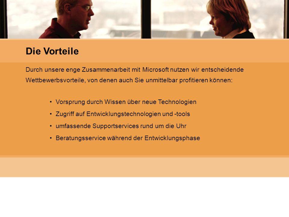 Microsoft Gold Certified Partner Durch unsere enge Zusammenarbeit mit Microsoft nutzen wir entscheidende Wettbewerbsvorteile, von denen auch Sie unmit