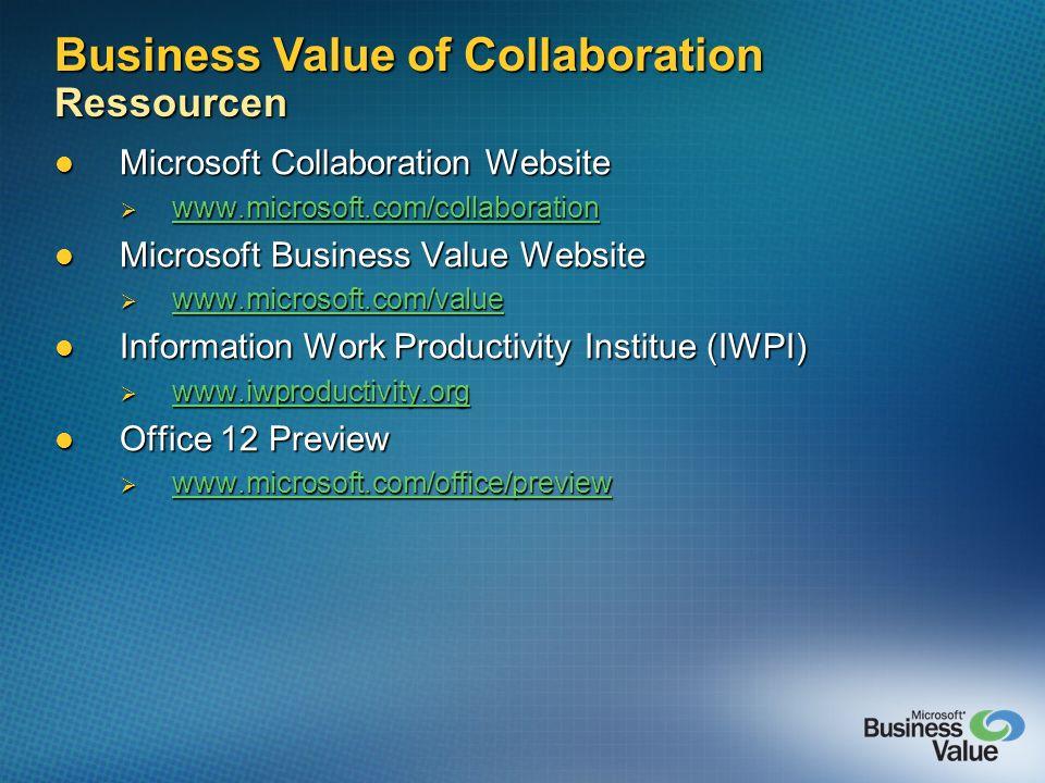 Microsoft Collaboration Website Microsoft Collaboration Website www.microsoft.com/collaboration www.microsoft.com/collaboration www.microsoft.com/coll