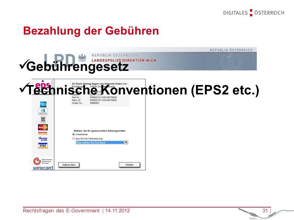 Rechtsfragen des E-Government | 14.11.201230 | Formularstyleguide und technische Konventionen Vervollständigen des vorausgefüllten Antrags