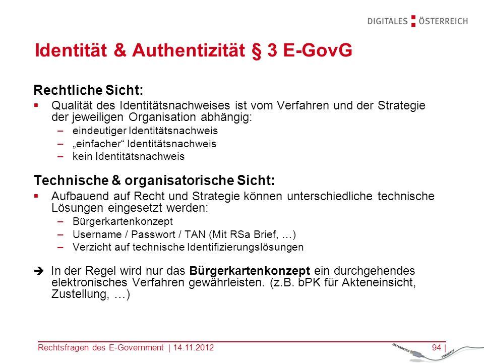 Rechtsfragen des E-Government | 14.11.201293 | Antragsformular