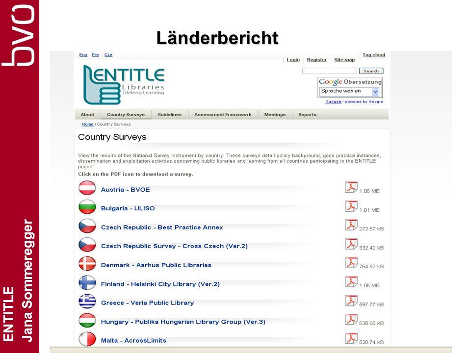 ENTITLE Jana Sommeregger Folie 9 Länderbericht