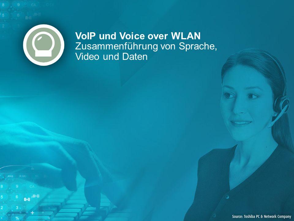 VoIP und Voice over WLAN Zusammenführung von Sprache, Video und Daten