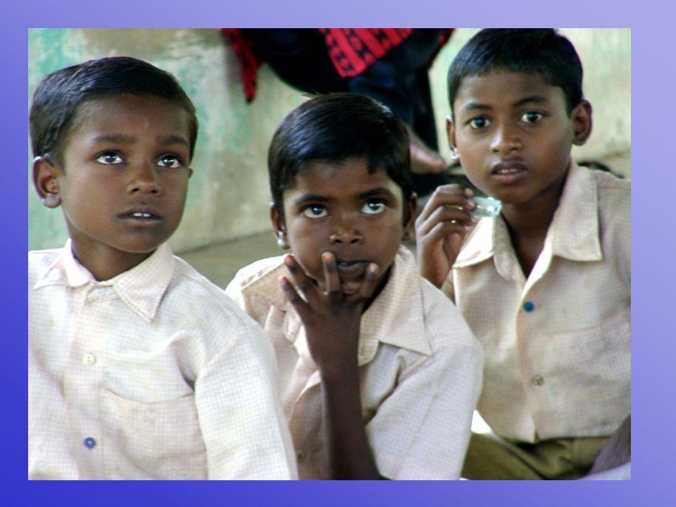 Durch das Internat können die Kinder die Schule besuchen und später eine qualifizierte Ausbildung machen.