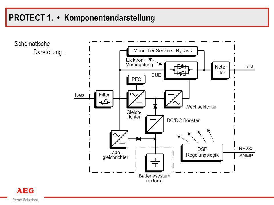 Schematische Darstellung : PROTECT 1. Komponentendarstellung
